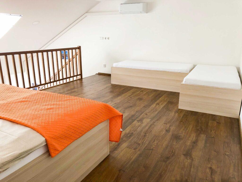 Apartman Slavia Holešov - lůžka
