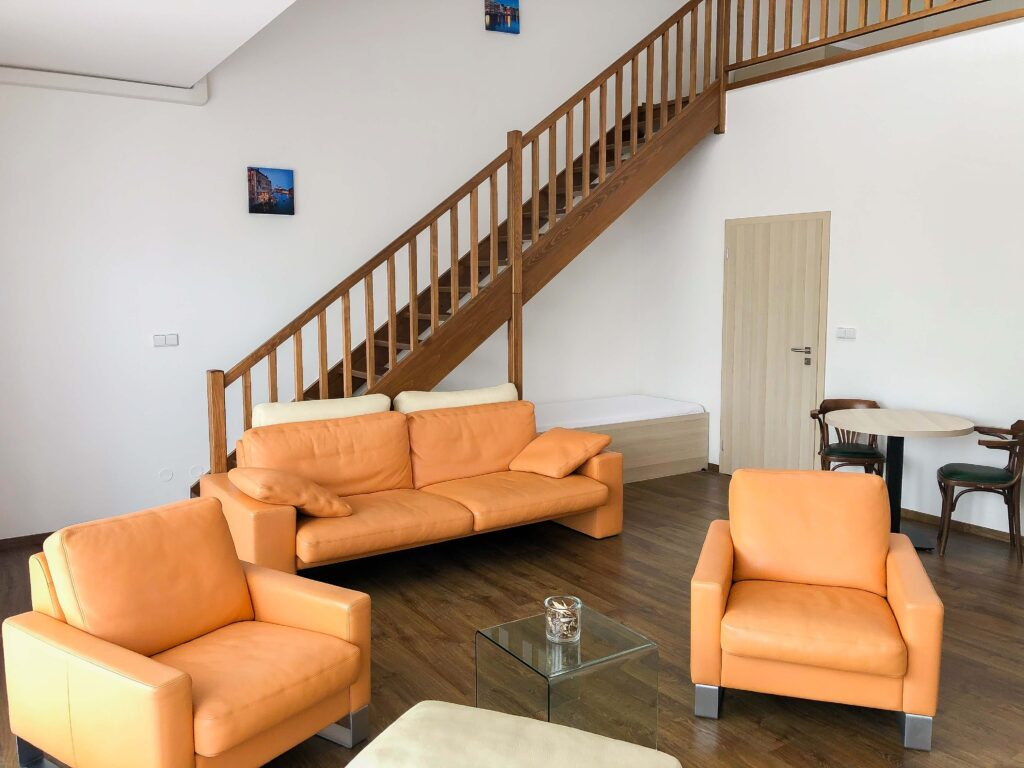 Apartman Slavia Holešov - obývací pokoj
