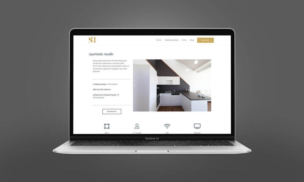 nový web hotel Slavia Holešov
