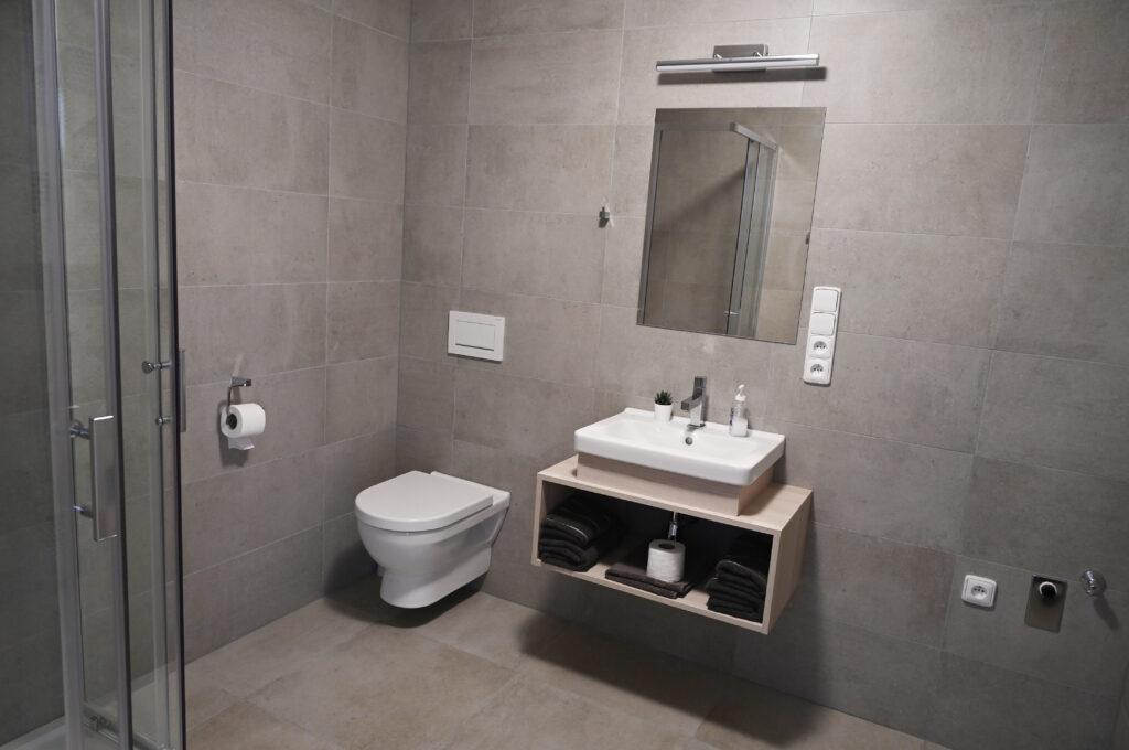 pokoj Deluxe - koupelna