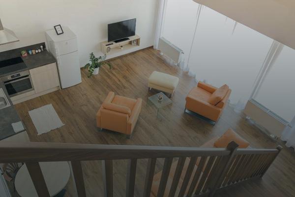 moderní apartmán v Holešově