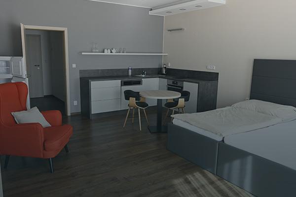 pokoj Deluxe Hotel Slavia